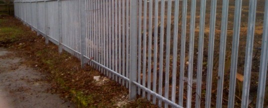 Steel Palisade Fencing – Wisdom Toothbrushes, Haverhill