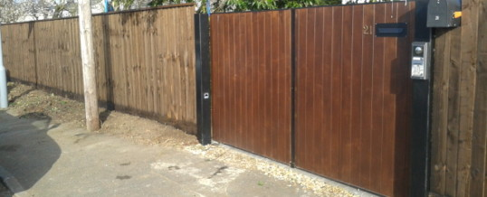 Close Board Fencing – Wilberforce Road, Cambridge