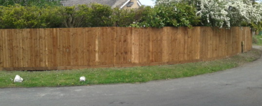 Close Board Fencing – Girton