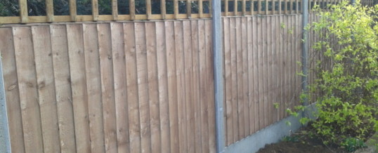 Close Board Panels with Trellis – Cottenham